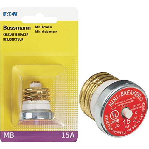 (Bussman BP/MB-15 15 Amp Mini Breaker)