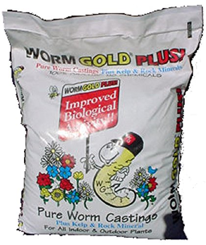 (Worm Gold Plus - Urban Garden Farms 20 Dry Quart Bag Worm Gold)