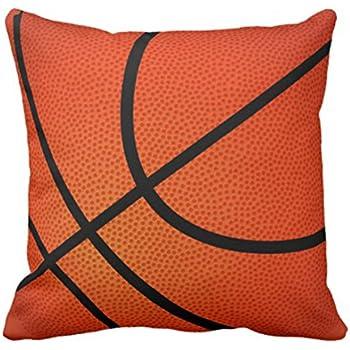 Amazon Com Emvency Throw Pillow Cover Orange Sports