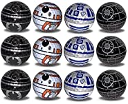 Death Star R2-D2 BB8 BB9E Golf Balls 12 pk