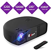 BNEST 3500-Lumens LED Home Theater Projector