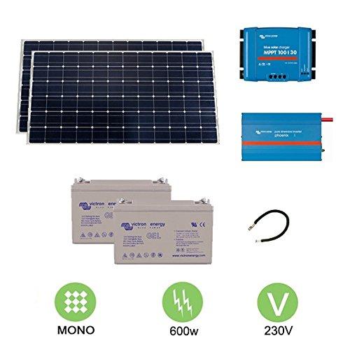 Kit fotovoltaico de 600 W a 230 V
