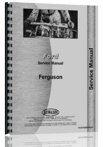 Ford Ferguson Hydraulic System Service Manual - Manual System Service