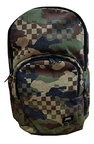 Vans Men's/Women's Alumni Pack (Laptop Backpack) (Checkered Camo)