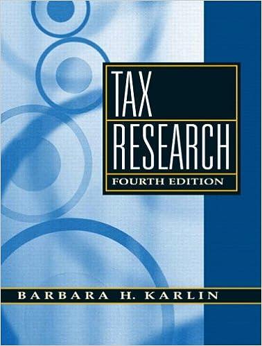Amazon tax research 4th edition 9780136015314 barbara h tax research 4th edition 4th edition fandeluxe Choice Image