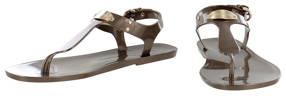 cafe187048 MICHAEL by Michael Kors MK Plate Bronze Infradito Donna 37 Bronze:  Amazon.it: Scarpe e borse