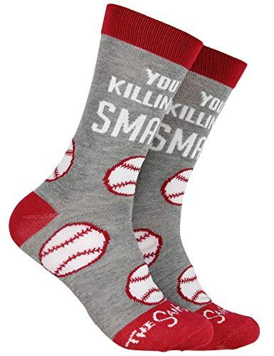 Smalls Sandlot Halloween (The Sandlot You're Killing Me Smalls! Baseball Design Mid-Calf Crew)