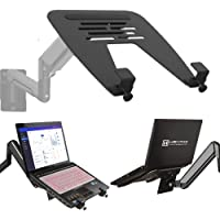HEYMIX Monitor Arm Laptop Tray Desk Portable Adjustable Laptop Stand Cooling Stand fit Gas Spring Arms/Vesa Mount…