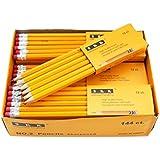 SKKSTATIONERY Pre-sharpened pencils, Pencils Sharpened with eraser top, 2 HB pencil, 144/box.