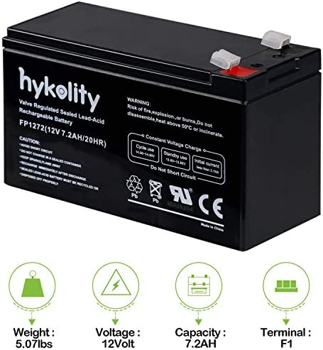 NT12-7.2-12V 7.2AH VERIZON FIOS REPLACEMENT BATTERY brand product