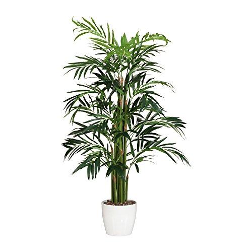 Künstliche BAMBUSPALME, ca 100 cm. Realtouch Kunst- Bambus- Palme im Topf.