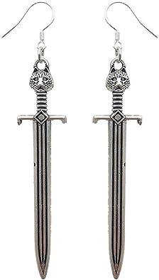 Sword Dangle Earrings