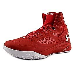 Under Armour Clutchfit Drive 2 Men Us 12.5 Red Basketball Shoe