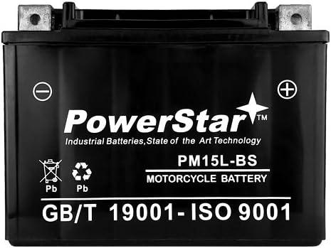 00-03 Bombardier DS650 Racer Yuasa AGM Maintenance-Free Battery YTX15L-BS