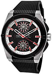 Rotary Men's Evolution Rubber Watch - Black