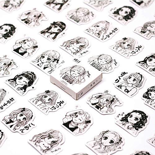 Memo Pads - 45Pcs/Set Kawaii creativa Memo pad Cute Watercolor Pattern Diary Planner Halloween Office Decor School Supplies Stationery - by SeedWorld - 1 -