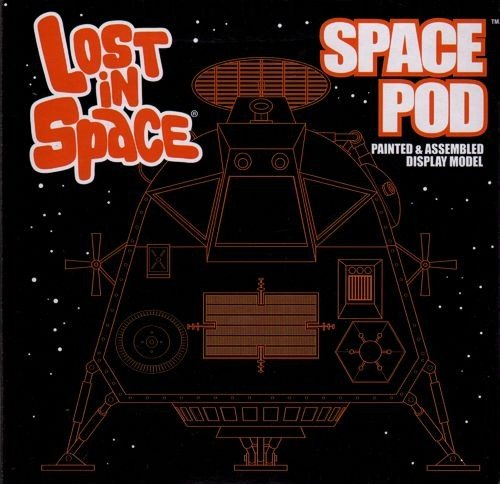 Moebius Lost in Space - Space Pod (Finished Model) 1:24 Scale ()