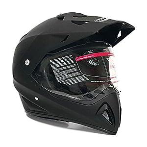 Woljay Dual Sport Off Road Motorcycle helmet Dirt Bike ATV D.O.T certified