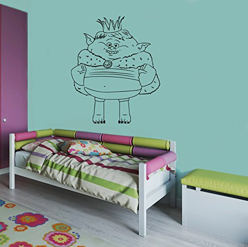 Trolls Prince Gristle Wall Vinyl Decal Sticker