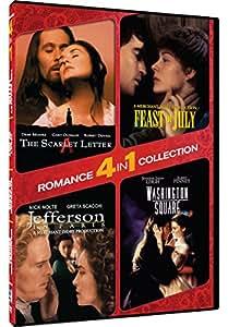 4-In-1 Romance: The Scarlet Letter, Washington Square, Jefferson In Paris, Feast Of July