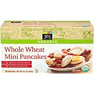 365 Everyday Value, Organic Whole Wheat Mini Pancakes, 8 ct, (Frozen)