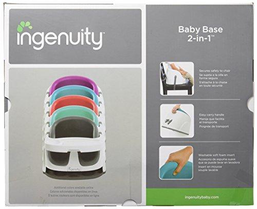 Ingenuity Baby Base 2-in-1 Seat, Ultramarine Green by Ingenuity (Image #3)
