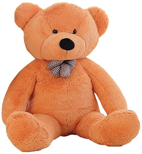 WOWMAX 6 Foot Light Brown Giant Huge Life Size Teddy Bear Cuddly Stuffed Plush Animals Teddy Bear Toy Doll 71""
