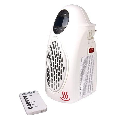 Molino Heater Estufa Eléctrica Compacta de bajo consumo mando incluida visto en TV