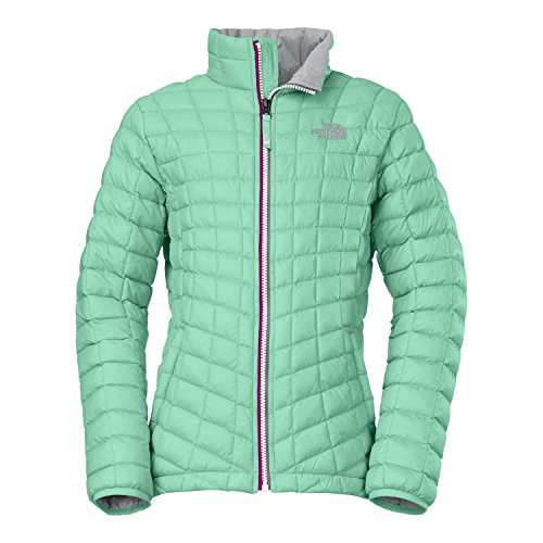 The North Face Girls Thermoball Ful-Zip Jacket Surf Green XXS 5 by The North Face