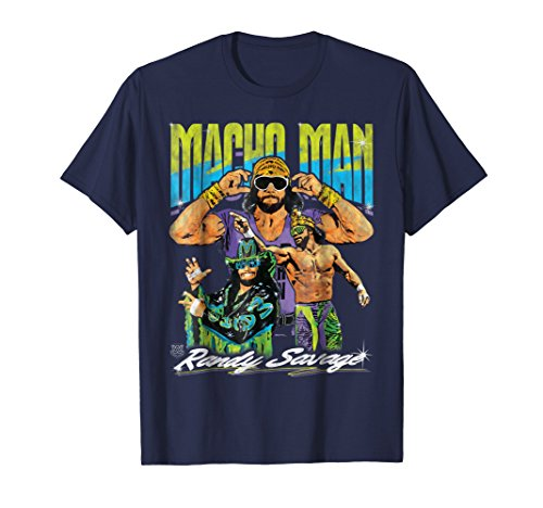 WWE Macho Man Randy Savage Classic graphic T-Shirt by WWE