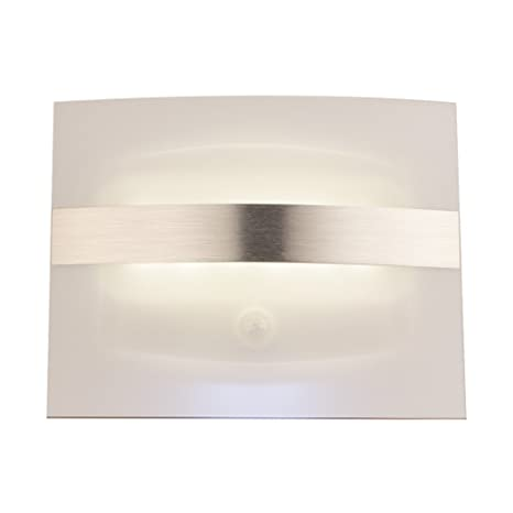 Lámpara LED de Pared, Luz LED de Noche con Batería PIR Sensor de Movimiento Automático