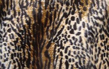 """WAVY VELBOA FAUX FUR FABRIC Brown 58/""""//60/"""" WIDTH SOLD BY THE YARD"""