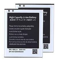 2 pcs High Capacity Samsung Galaxy S3 Battery EB-L1G6LLA EB-L1G6LLU EB-L1G6LLZ For Samsung Galaxy S3 SGH-I747 / Samsung Galaxy S3 SPH-L710 / Samsung Galaxy S3 SGH-T999 / Samsung Galaxy S3 SCH-R530 / Samsung Galaxy S3 SCH-I535 / Samsung Galaxy S3 GT-I9300