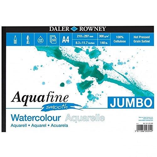 Daler Rowney Aquafine Jumbo Acquerello Pad A4
