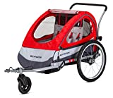 "Schwinn Trailblazer Double Bike Trailer, 16"" Wheels"