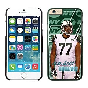 York Jets Austin Howard Case Cover For Apple Iphone 4/4S Black NFL Case Cover For Apple Iphone 4/4S 14103