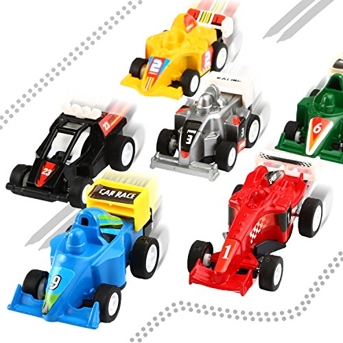 51 RrJ4v40L - Yeonha Toys Pull Back Vehicles, 12 Pack Mini Assorted Construction Vehicles & Race Car Toy, Vehicles Truck Mini Car Toy for Kids Toddlers Boys Child, Pull Back & Go Car Toy Play Set