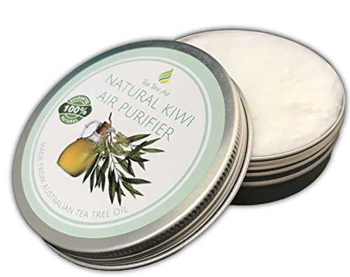 Tea Tree Air Purifier Natural KIWI ✔ Natural Air Purifier Cream, Kills Mold, Attacks Mildew, Air Freshener, Air Conditioner - Perfect for kitchen, bathroom or car! - $12.95 ✔ (2.2 oz)
