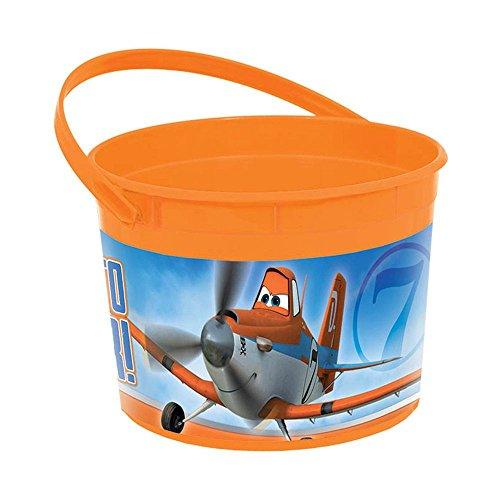 [Disney Planes Plastic Favor Container (Each)] (El Chupacabra Planes Costume)