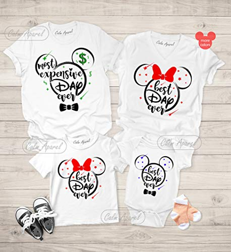 Best Day Ever Family Shirts, Vacation Shirts, Family Cruise Shirts, Couple Matching T-shirts, Trendy Graphic Tops (Best Disney Family Shirts)