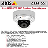 Axis, M3025-Ve Network Camera Network Camera Dome Outdoor Vandal / Weatherproof Color ( Day&Night ) 1920 X 1080 M12 Mount Fixed Iris 10/100 Mjpeg, H.264 Poe Product Category: Networking/Camera Mounts & Enclosures