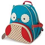 "Toddler Backpack, 12"" Owl School Bag, Multi"