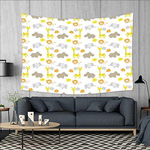 smallbeefly Nursery Tapestry Wall Hanging 3D Printing Baby J