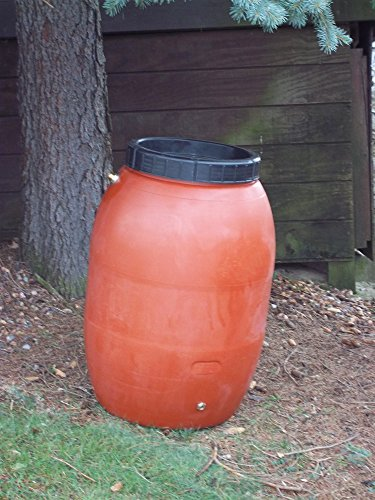 Upcycle 50 Gallon Terra-Cotta Rain Barrel