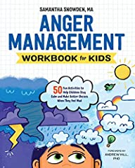 Help your child gain control of their emotions with interactive exercises and activities              Everyone gets angry, but teaching kids how to respond to anger is what really matters. The Anger Management Workbook for Kid...