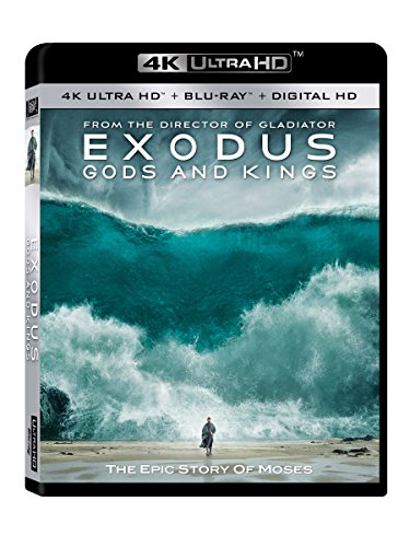 4K Blu-ray : Exodus: Gods and Kings (Digitally Mastered in HD)