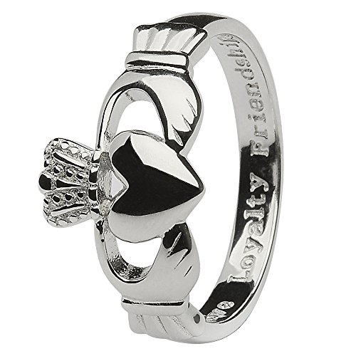 Men's Sterling Silver Claddagh Ring (13)