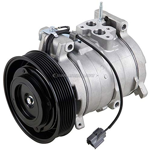 AC Compressor & A/C Clutch For Honda Accord 2.4L 4-Cyl 2003 2004 2005 2006 2007 - BuyAutoParts 60-01590NA NEW