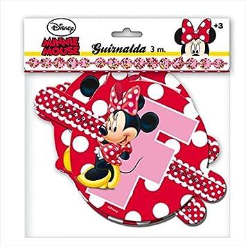 Minnie Mouse - Guirnalda feliz cumpleaños lunares (Verbetena 014000290)