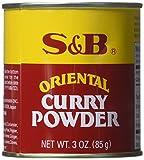 S&B Curry Powder, Oriental, 3 oz (85 g) (Pack of 2)